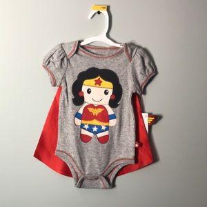 onesie With cape NWT🎀